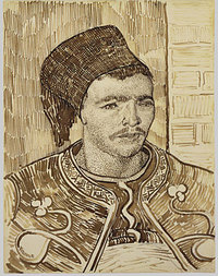 The Zouave , June 1888, pen and ink