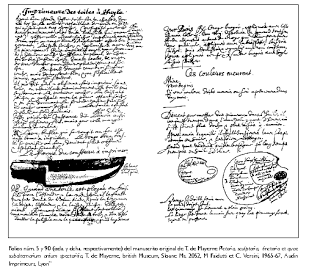 Folios 5 & 9O, Theodore de Mayerne,  Pictoria, Sculptoria...