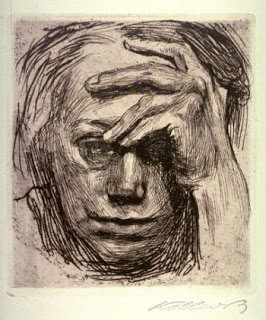 K. Kollwitz, Self Portrait