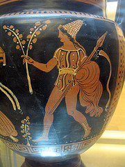 Red figure Greek pottery, Matera
