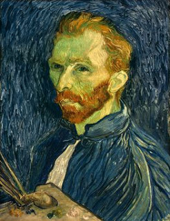 Vincent Van Gogh, Self-Portrait,  1889, Image courtesy of the National Gallery of Art