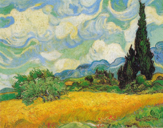Wheat Field with Cypresses, Van Gogh, 1889, Image courtesy of the Metropolitan Museum of Art