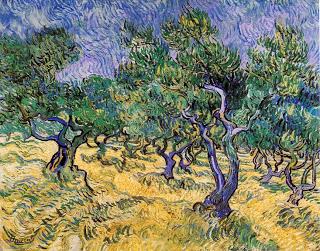 Olive Grove, Van Gogh, 1889