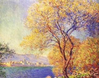 Antibes vue de la Salis , Claude Monet, 1888, image courtesy of the Toledo Museum of Art, Ohio