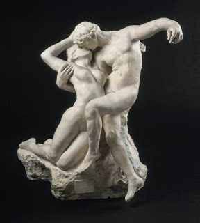 Eternal Springtime , Auguste Rodin, 1880-1901, image courtesy of Museum of Fine Arts, Budapest