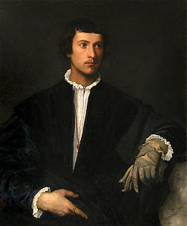 Man with a Glove.  Image courtesy of Musee du Louvre, Paris