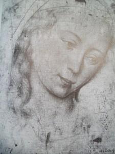 Rogier van der Weyden - Head of the Virgin