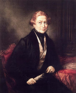Sir Robert Peel, painting by John Linnell, 1838; in the National Portrait Gallery, London.