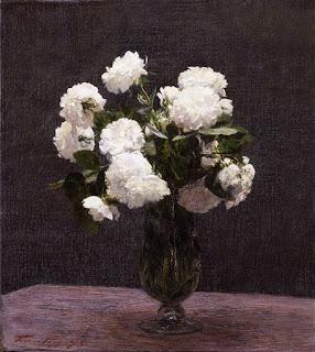 H. Fatin-Latour,  White Roses,  1875, (Image courtesy of York Art Gallery, York, UK)