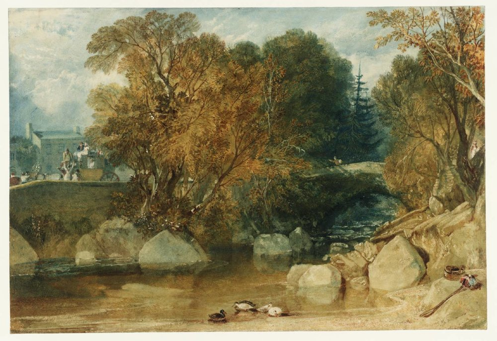 Ivy Bridge, Devonshire , c.1813-1814, J.M.W. Turner (Image courtesy of the Tate.org.uk)