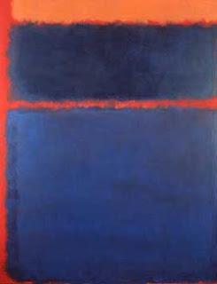 Blue, orange, red,  Mark Rothko, 1961