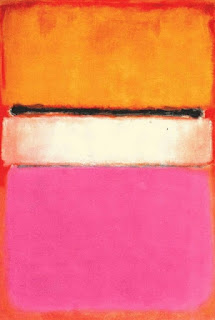 Pink and orange, 1950,  Mark Rothko