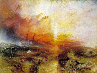 The Slave Ship,  J.M.W. Tuner, oil on canvas, 1840, (Image courtesy of the Museum of Fine Arts, Boston)