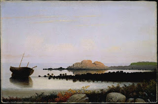 Brace's Rock, Gloucester, MA,  circa 1864, Fitz Hugh Lane (Courtesy of the National Gallery of Art, Washington)