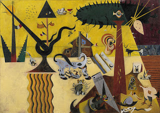 The Tilled Field,   Joan Miró, 1923-24, Image courtesy of the  Solomon R.Guggenheim Museum