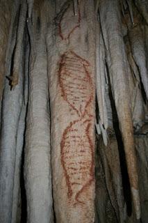 Rupestrian Art, Nerja Caves, Andalucia