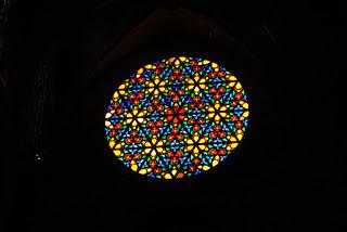 Rose Window, Cathedral, Palma de Mallorca