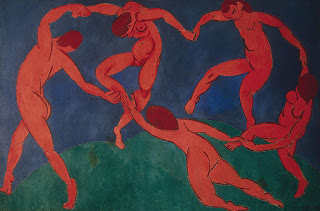 Dance , Matisse, 1909-1910, (Image courtesy of the State Hermitage Museum)