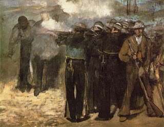 The Execution of Emperor Maximilian , 1867.. (Image courtesy of the Fine Arts Museum, Boston)