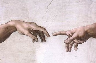 Hands of God and Adam, Michelangelo, Sistine Chapel ceiling