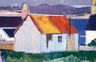 "Iona , oil on canvas, Frank ""Bunty"" Cadell"
