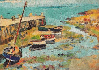 Lower Largo,  George Leslie Hunter