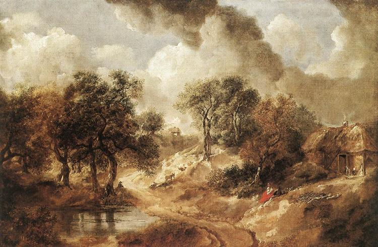 Landscape in Suffolk ,1748  Thomas Gainsborough (courtesy of the Kunsthistorisches Museum),