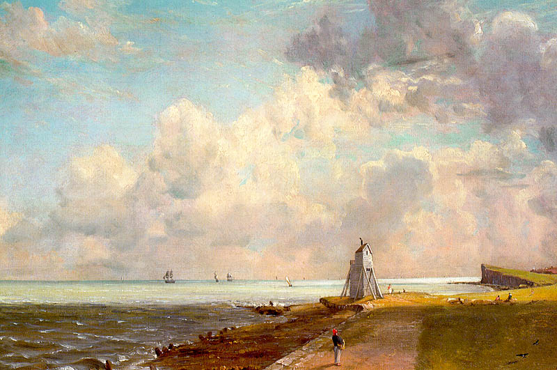 Harwich Lighthouse,  c. 1820, John Constable (image courtesy of the Tate)