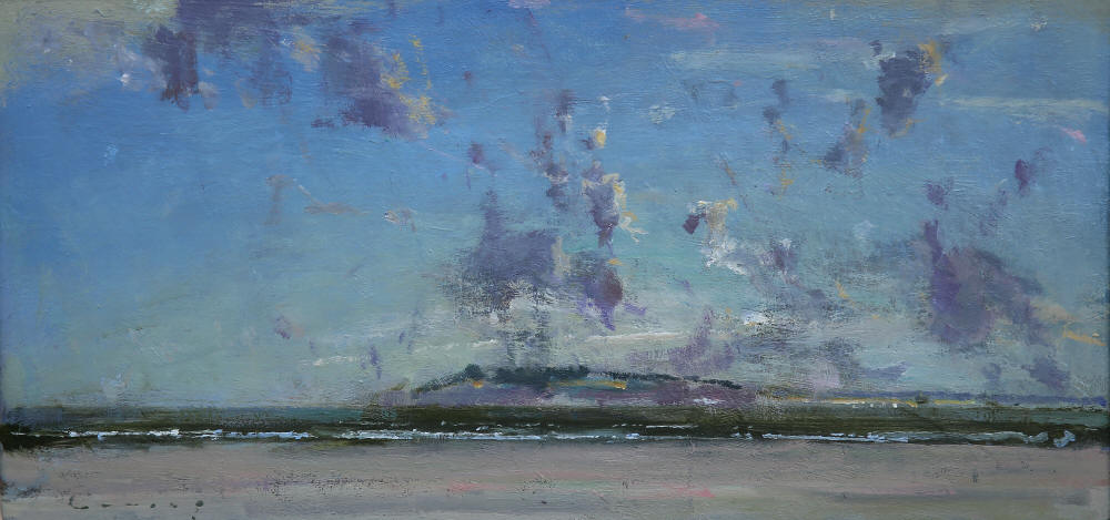 Winter Sea Camber 14,  Fred Cumming , oil on board (courtesy of the Artist)