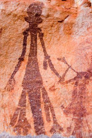 Bradshaw figure, ( courtesy of the Bradshaw Foundation).