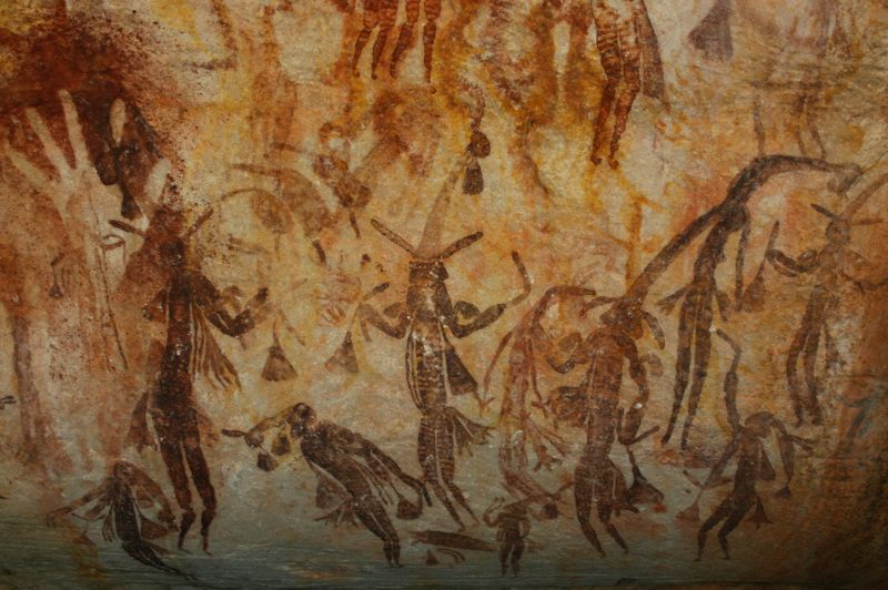 Gwion Gwion cave paintings in the Kimberely