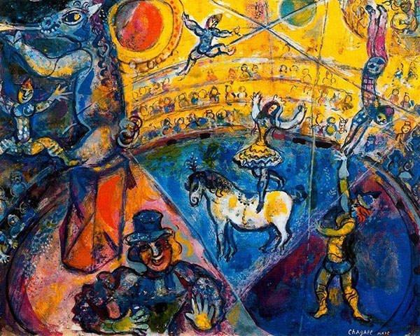 Circus Horse, 1964, Marc Chagall