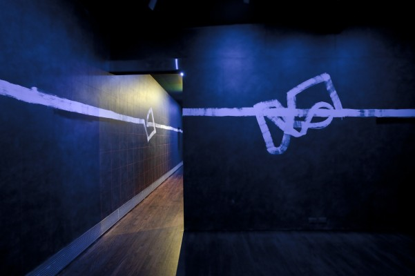 My thanks to the Sue Scott Gallery for the image of Steir's installation.