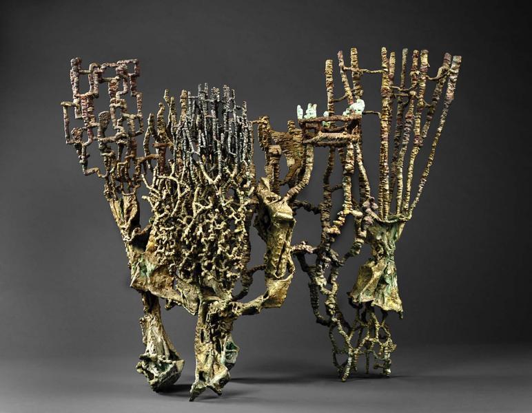 Ibram Lassaw,  Banquet , 1961, bronze, Smithsonian American Art Museum, Ibram Lassaw,  Banquet , 1961, bronze, Smithsonian American Art Museum,