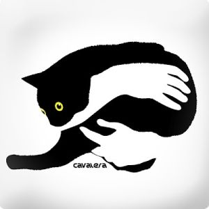 Positive and Negative Space, Feline Style