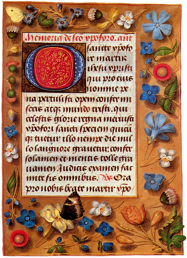 470s Hastings  Book of Hours
