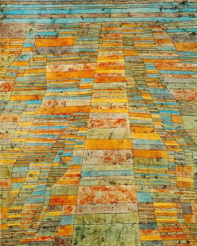 Highways and Byways,  Paul Klee, 1929, (Image courtesy of www.paulklee.net)