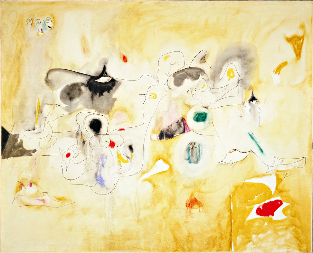 The Plough and the Song, 1947, Arshile Gorky. (Image courtesy of Allen Memorial Art Museum, Oberlin College.)
