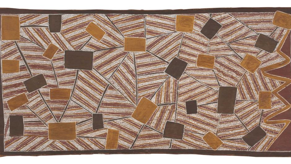 MAWALAN MARIKA, Sydney from the Air, 1963, National Museum of Australia.