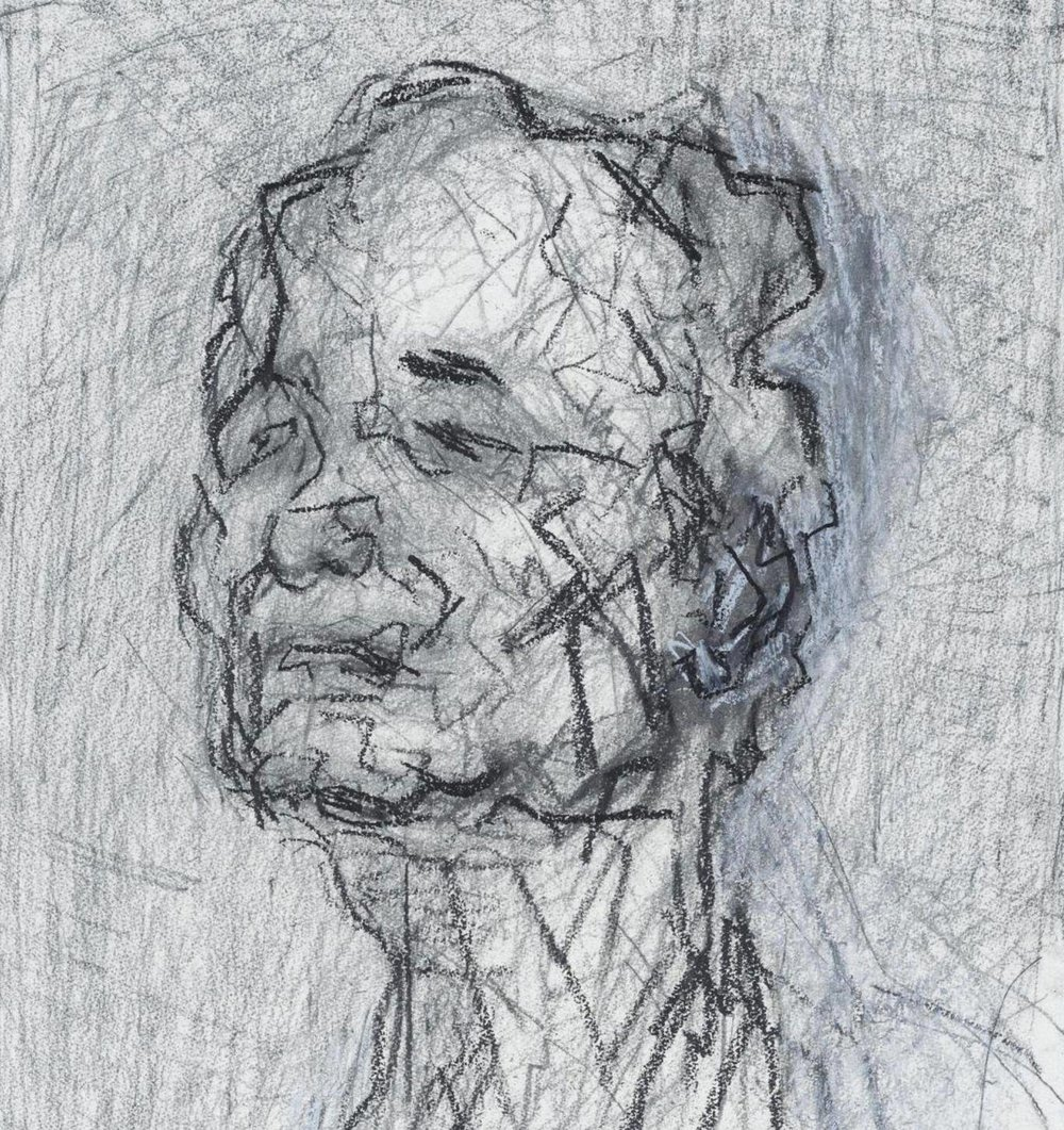 Frank Auerbach: Speaking and Painting by Catherine Lampert, book review: Portrait of the artist as no ordinary man (Image courtsy of Malborough Fine Art)