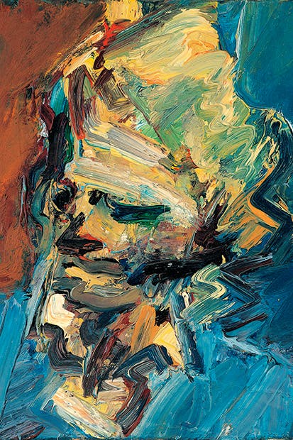 Catherine Lampert, 1986, Frank Auerbach: