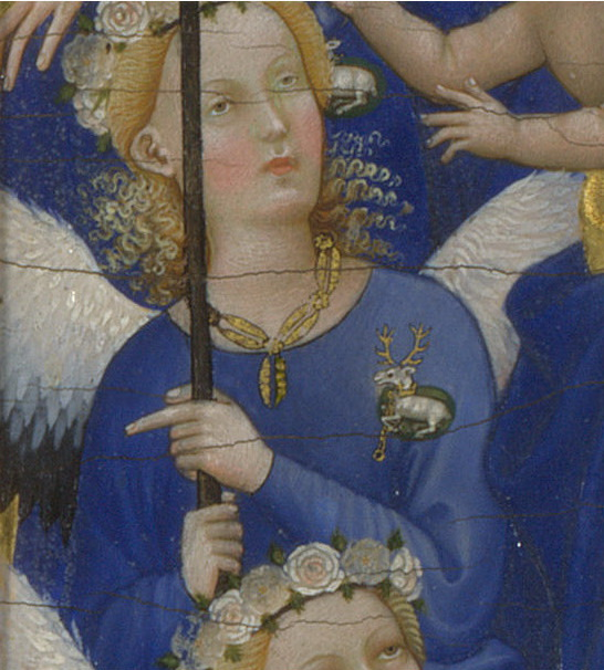 Detail of the Wilton Diptych