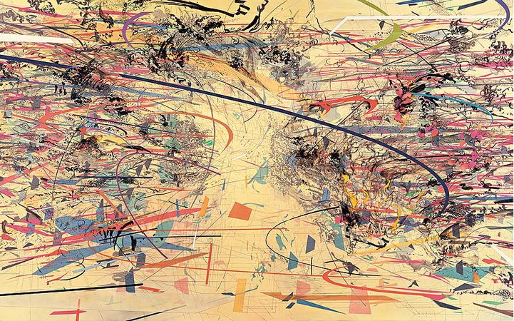 Disperson, Julie Mehretu, 2002