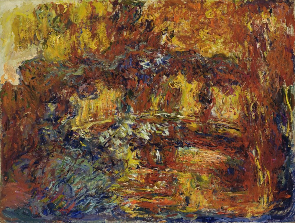 The Japanese Footbridge, 1920-22, Claude Monet (Image courtesy of MOMA, New York)