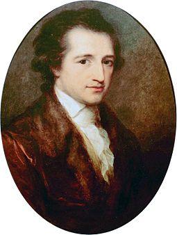 Young Goethe, 1787, Angelica Kauffmann, (Image courtesy of Goethe-Nationalmuseum (Weimar)