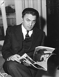 Frederico Fellini in the 19560s