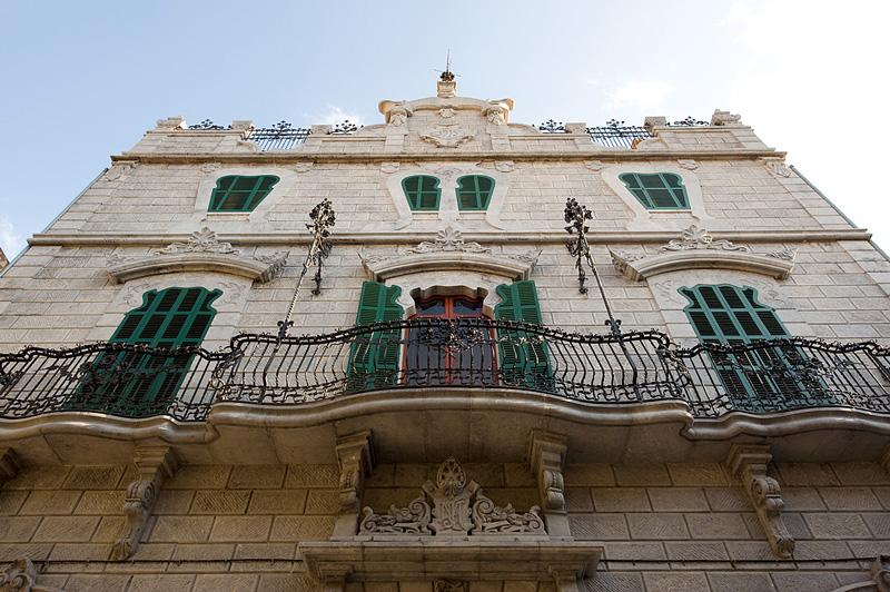 Facade of Can Prunera, Soller, Mallorca (Image courtesy of Can Prunera)