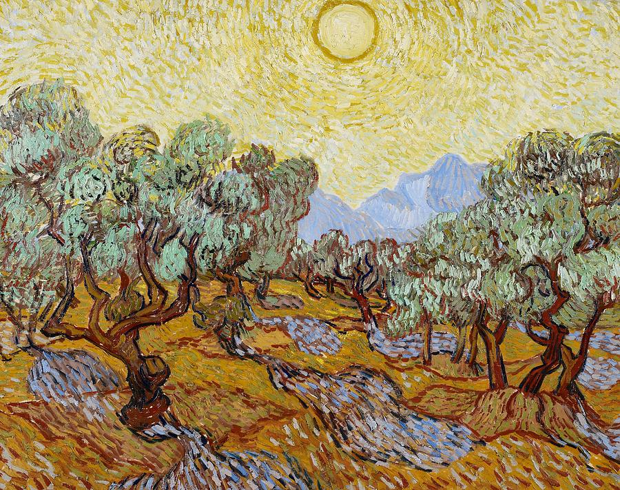 Olive Trees, Saint-Rémy, November 1889, Vincent Van Gogh,, (Image courtesy of the Minneapolis Institute of Art)
