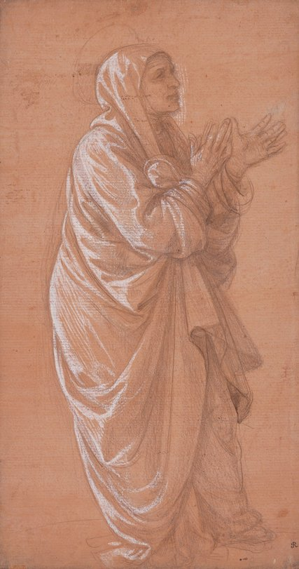 Standing Woman,1460-69, by Fra Filippino Lippi. (Image courtesy of The Trustees of the British Museum, London)