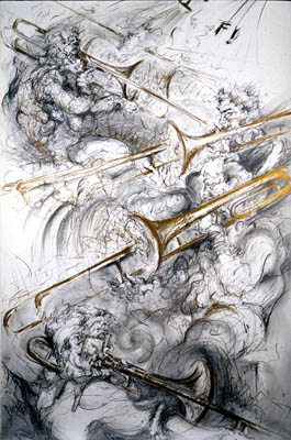 Brass 1, Lori Gene, (image courtesy of the artist)